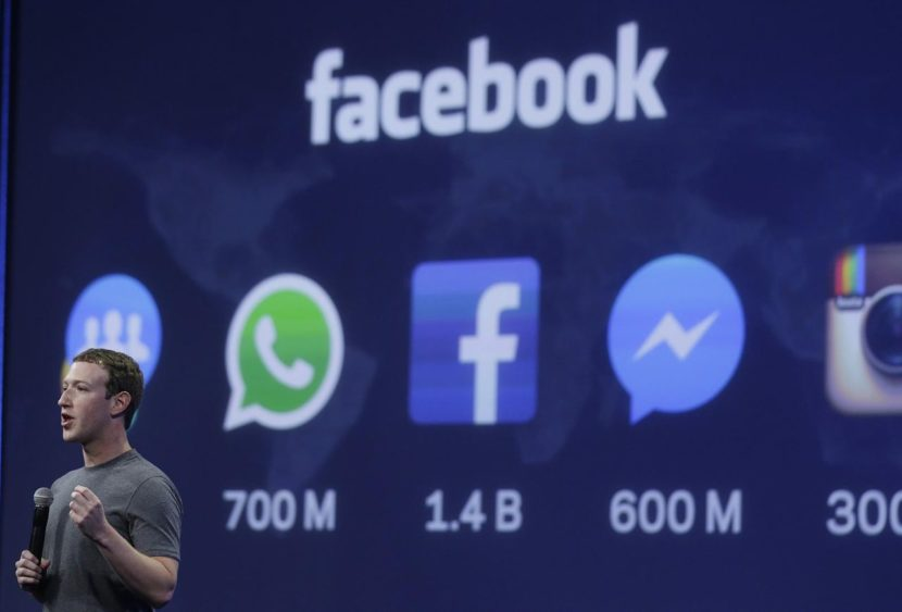 algoritmo di facebook 2018