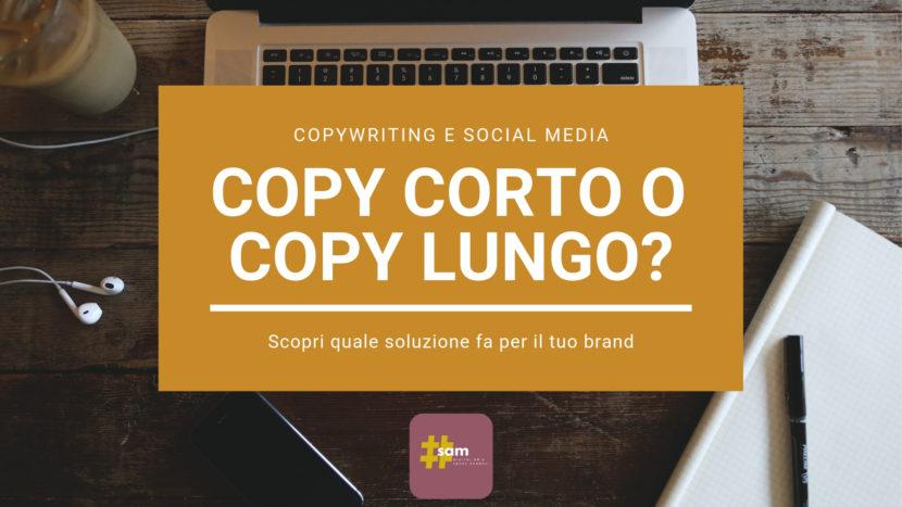 copy corto o copy lungo