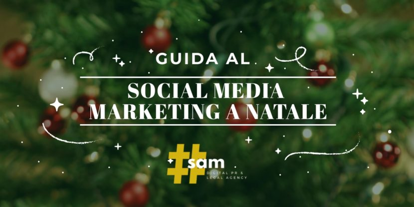 social media marketing a Natale
